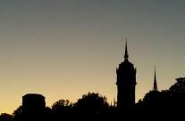 Wittenberg bei Abend